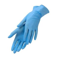 Перчатки нитриловые (синий, M, 100 шт./упк.).