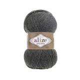 Пряжа Alize Alpaca Royal темно-серый меланж 182