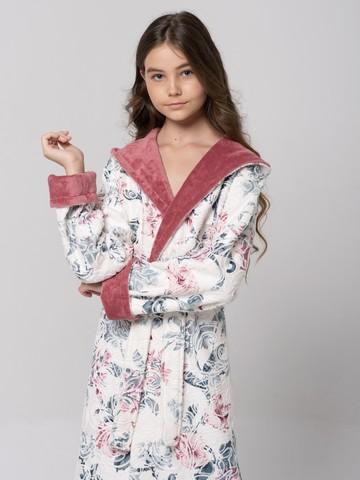 LITTLE MADONNA (rose) детский халат для девочки  Five Wien Турция