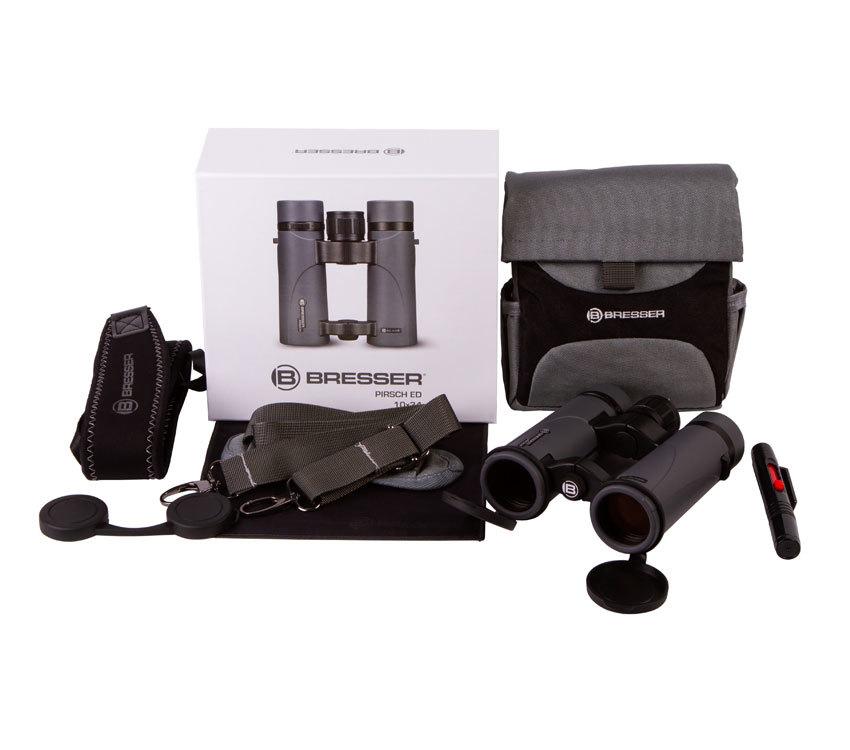 Бинокль Bresser Pirsch ED 10x34 - фото 2 - комплект поставки
