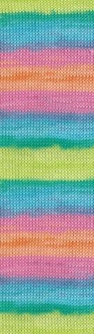 Пряжа Alize Bella Batik 100 цвет 4151