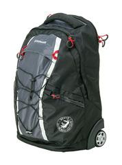 Рюкзак на колёсах Wenger, черный/серый, 33х21х50 см, 35 л