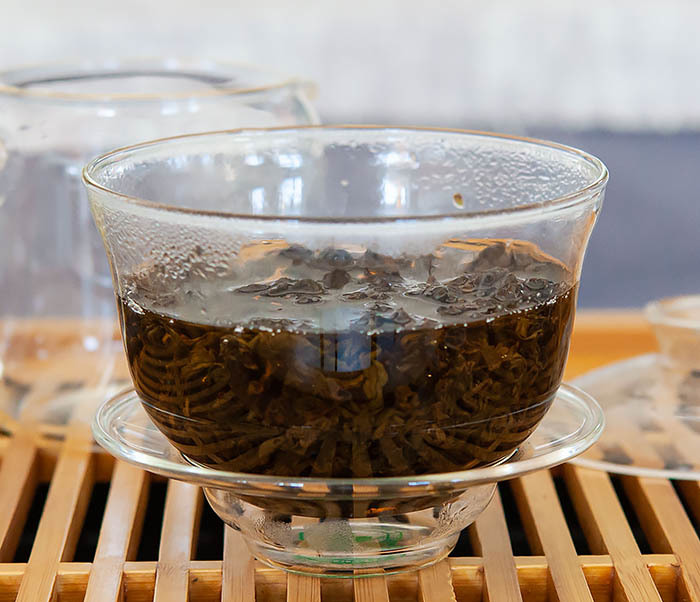 TEA-TAW101 Чай улун «ГАБА» Алишань (Тайвань, 50 гр) фото 09
