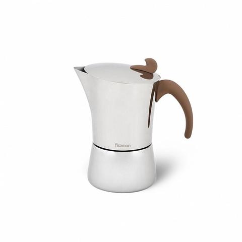 9414 FISSMAN Гейзерная кофеварка (на 4 чашки),  купить