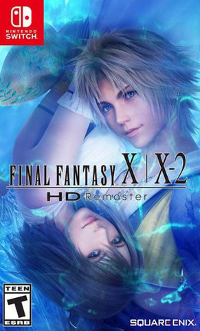 Final Fantasy X/X-2 HD Remaster (Nintendo Switch, английская версия)