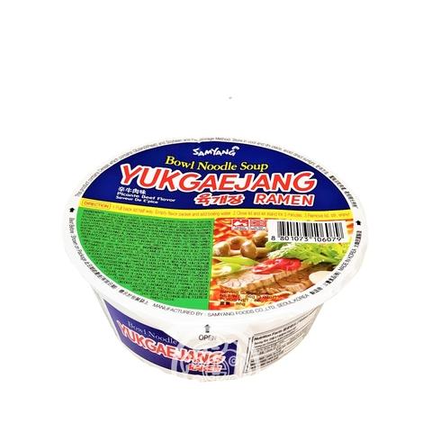 Лапша б/п SAMYANG Yukgaejang со вкусом говядины и свинины 86г ч Samyang Корея