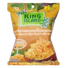 Кокосовые чипсы King Island с карамелью 40 гр