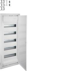 Щит встраиваемый для пустотелых стен, Volta, 5x12M, глубина уст. 90мм, IP30, RAL9010