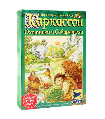 Настольная игра Каркассон: Охотники и Собиратели (2-е рус. Изд.)
