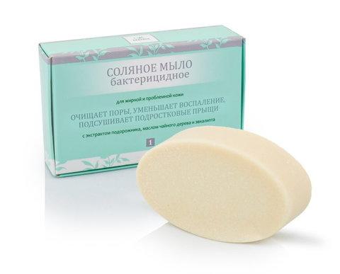 Соляное мыло, бактерицидное, для жирной и проблемной кожи