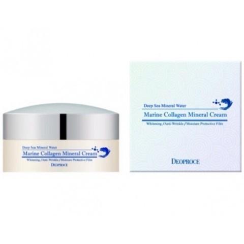 Deoproce Marine Collagen Mineral Cream 100g