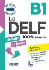 Nouveau DELF scolaire et junior B1 + CD