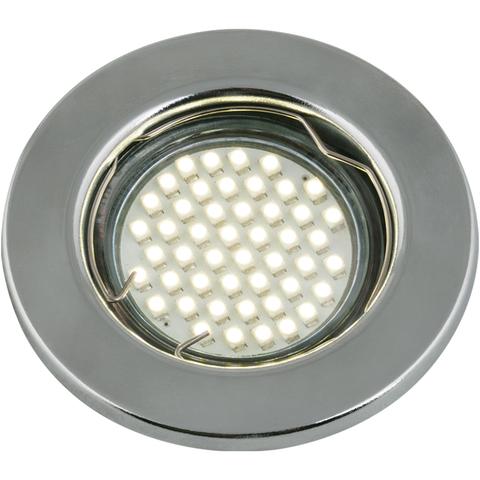 DLS-A104 GU5.3 CHROME Светильник декоративный встраиваемый ТМ
