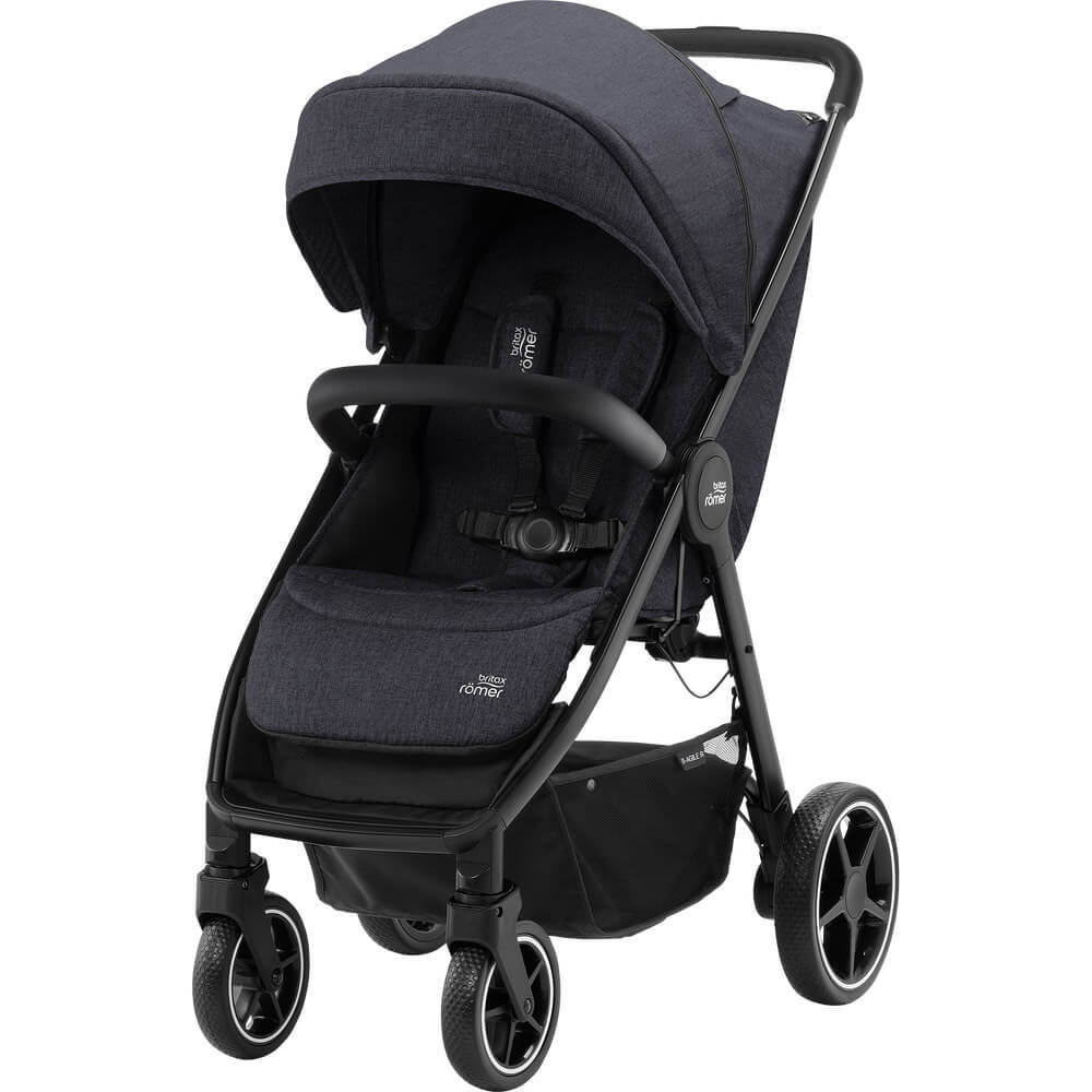 Britax B-Agile R Прогулочная коляска Britax B-Agile R Black Shadow/Black 01_B-AGILE_R_BlackShadow_BlackHandle_02_2019_72dpi_2000x2000.jpg