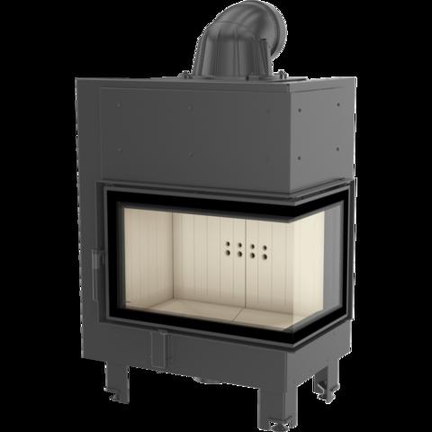 Каминная топка Kratki MBM/P/BS/SG (гнутое стекло) (10 кВт)