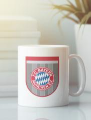 Кружка с изображением FC Bayern München (ФК Бавария) белая 002