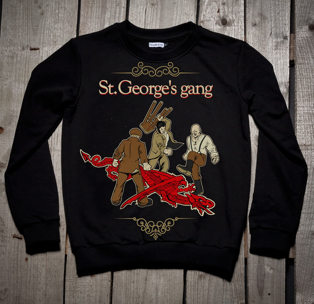 Толстовка St. George's gang