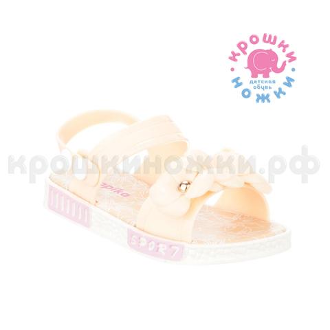 Туфли пляжные персиковые цветы, Kapika