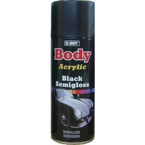 Body Краска черная  (спрей 0,4)