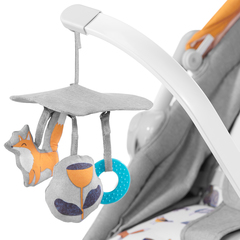 Колыбель-шезлонг Kinderkraft Unimo Stone Grey