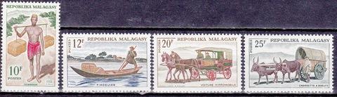 Мадагаскар 1965 №540-3 **MNH