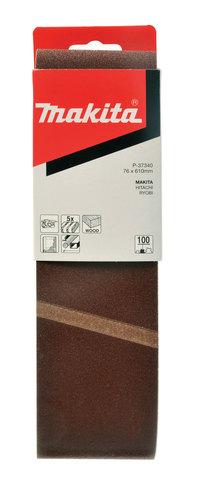 Шлифовальная лента Makita # 100 76x610 мм