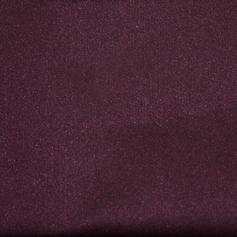 Однотонная портьерная ткань сатин Денвер сиреневый