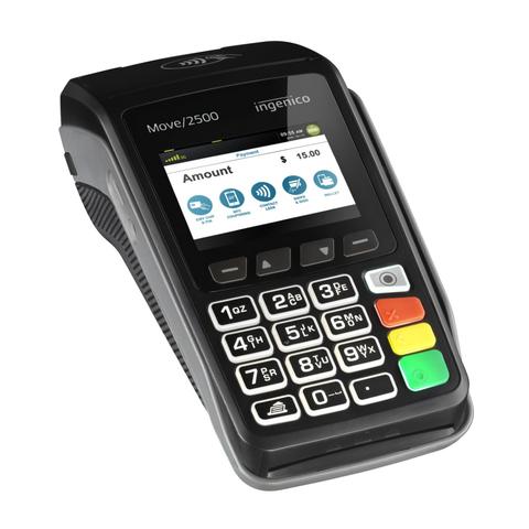 Терминал для оплаты картой Ingenico Move 2500 3G