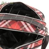 Сумка Саломея 139 шотландский красный + черный