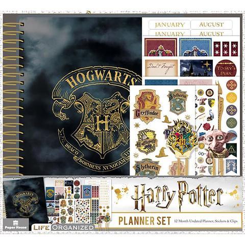 Набор- ежедневник с украшениями - Paper House Harry Potter 12-Month Planner