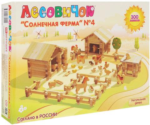 Конструктор Лесовичок Солнечная ферма №4