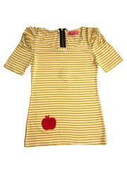 008097-1 футболка женская, желтая