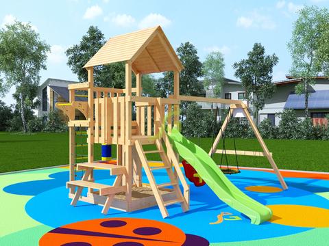 Недорогая детская площадка