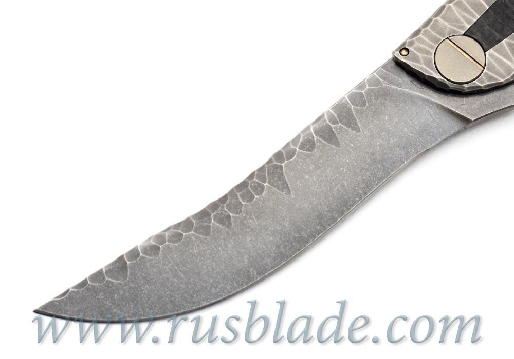 CKF CUSTOM Sablya Stone Knife - фотография