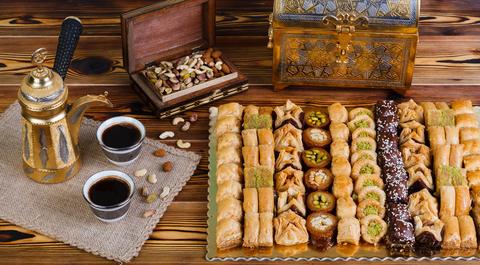 """Пахлава - ассорти ливанских сладостей """"Палитра вкуса"""", 1500 г"""