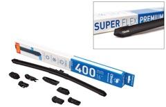 Всесезонная бескаркасная щетка стеклоочистителя (дворник) adapter Kit ClimAir SUPER FLEX PREMIUM 16