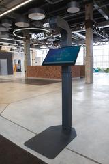 Автономный терминал для бесконтактного измерения температуры тела Promobot Thermocontrol