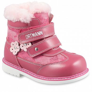 Обувь для девочек Детские зимние ортопедические ботинки ORTMANN Kids Bela 7.14.2 c9ab294f876c6d6be01bd70112cf8acd.jpg