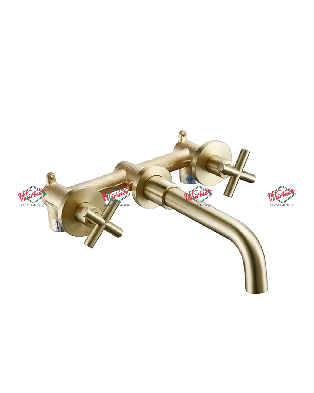 Смесители для раковины Смеситель для раковины Warmer Bronze Line BSV-0124 BSV-0124--_7_.jpg