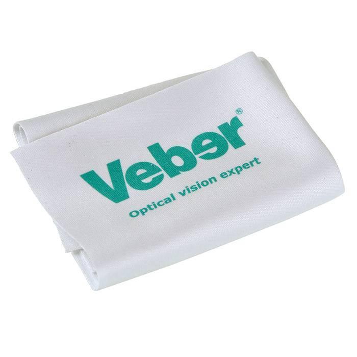 Салфетка микрофибра для ухода за оптикой Veber 15x15 - фото 1