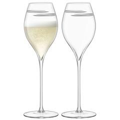 Набор из 2 бокалов для шампанского Signature Verso Tulip 370 мл, фото 1