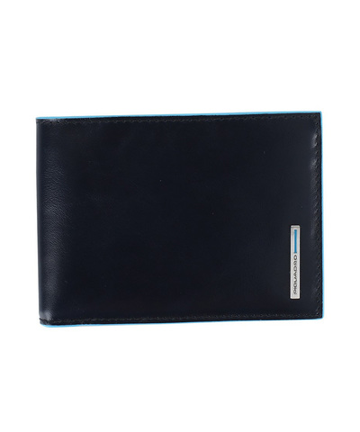 Кошелек Piquadro Blue Square, синий, 12,5x9x2 см