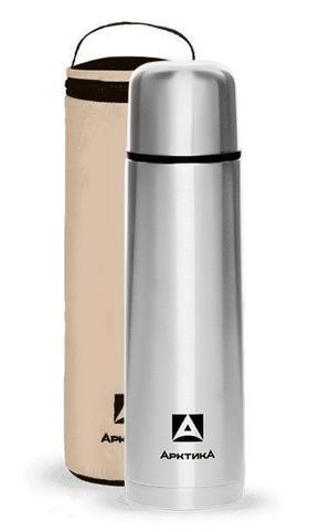 Термос Арктика(0,75 литра)с узким горлом классический,чехол