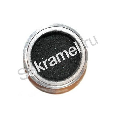 Блёстки в банке 3 гр. мелкие Чёрный