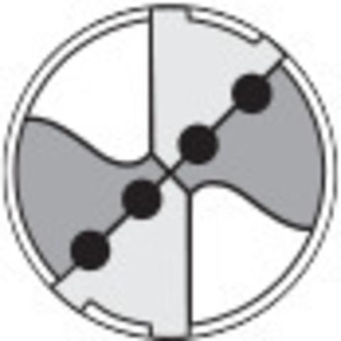 Свёрла твердосплавные HPC Weldon DIN 6535 HB TiAlN