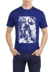 461493-21 футболка мужская, синяя