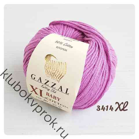 GAZZAL BABY COTTON XL 3414XL, Сиреневый