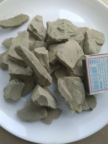 Уйгурская нечищенная коричневая соленая глина казахстанская