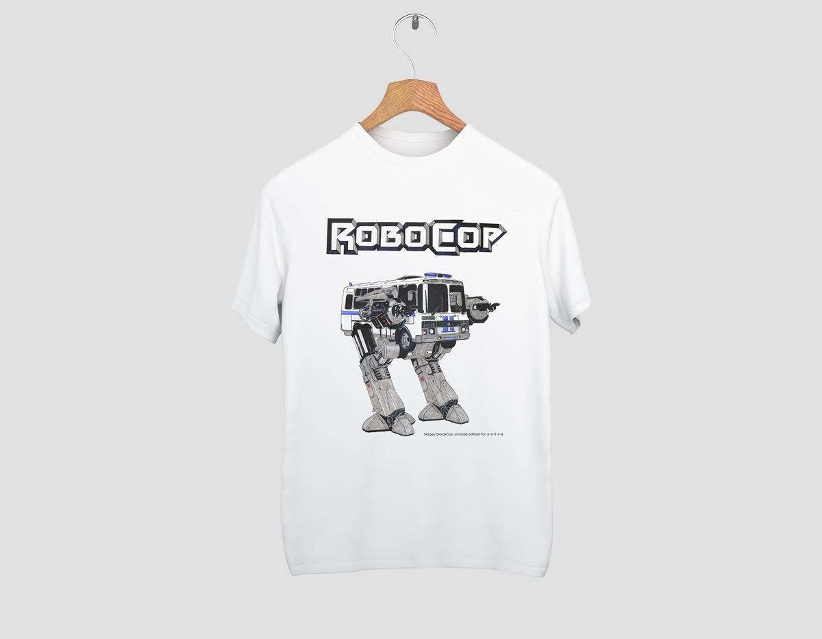 Футболка RoboCop