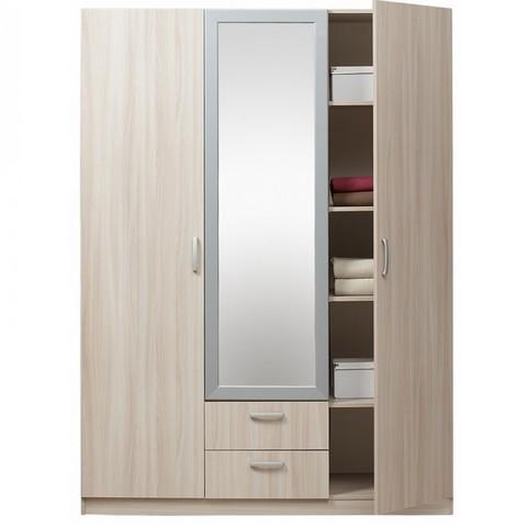 Шкаф 3х-дверный с зеркалом 5.14Z ЭКО